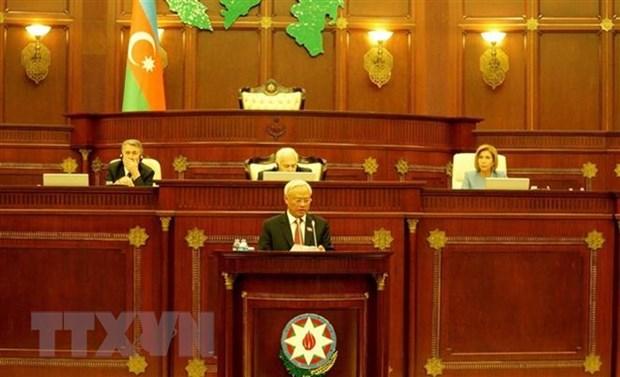 Vietnam pledges to broaden partnership with Azerbaijan hinh anh 1