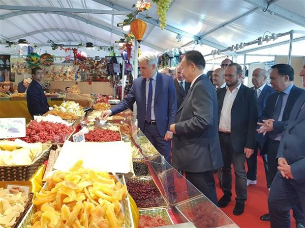 Vietnam present at Int'l Fair of Caen in France as guest of honour hinh anh 1