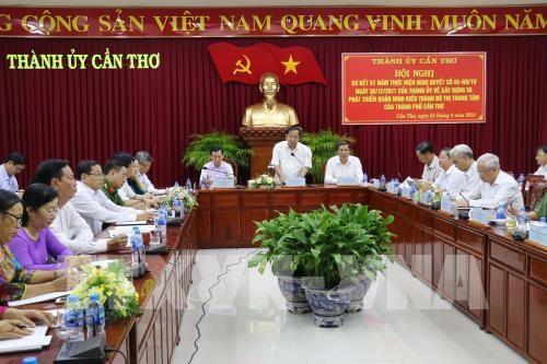 Conference reviews Ninh Kieu development as hub of Can Tho hinh anh 1