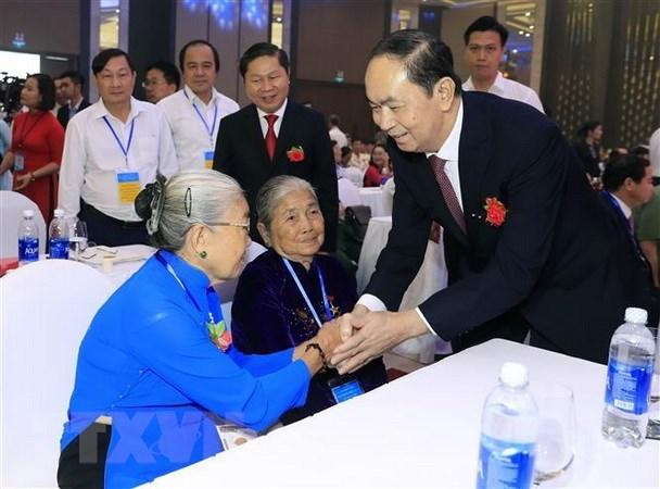 Ninh Binh always proud of late President Tran Dai Quang hinh anh 1