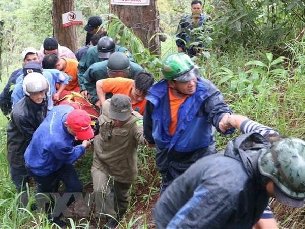 RoK tourist dies during tour of Da Lat waterfall hinh anh 1