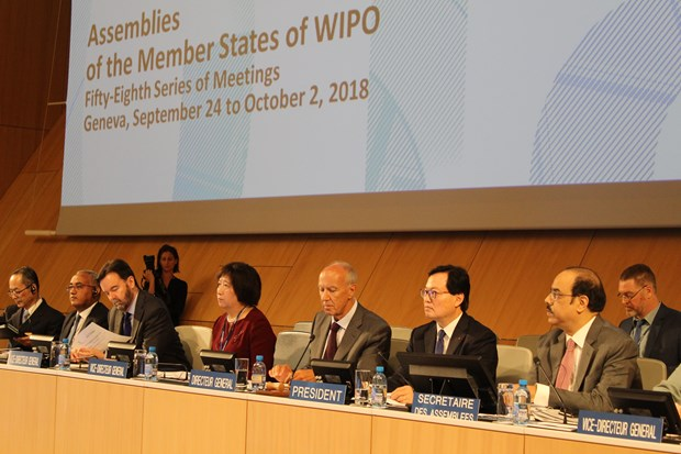 Vietnam chairs WIPO's 58th series of meetings of member states' assemblies hinh anh 1