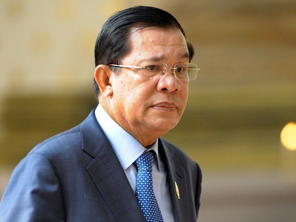 Cambodian PM to pay tribute to President Tran Dai Quang in Hanoi hinh anh 1