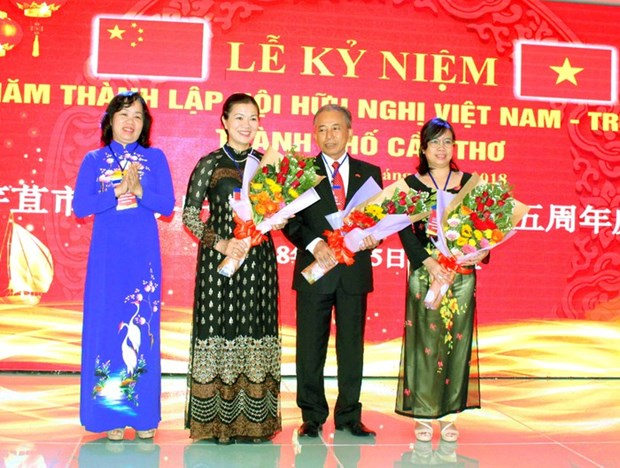 Friendship association fosters 25 years of Vietnam-China ties hinh anh 1