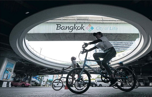World Car Free Day 2018 observed in Bangkok hinh anh 1