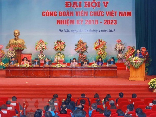 12th Vietnam trade union congress elects executive board hinh anh 1