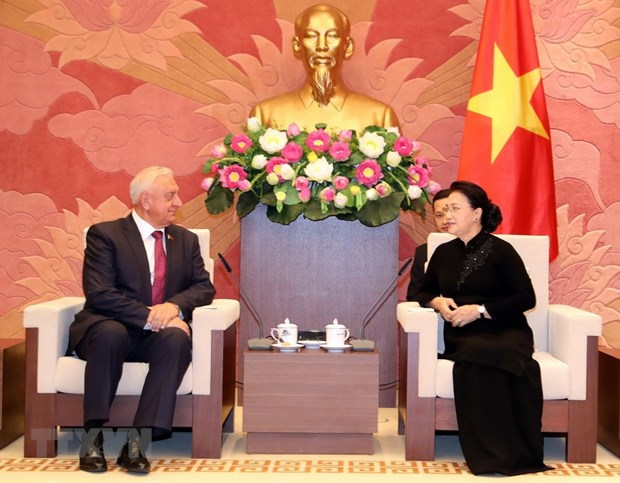Vietnam values traditional ties with Belarus: Top legislator hinh anh 1