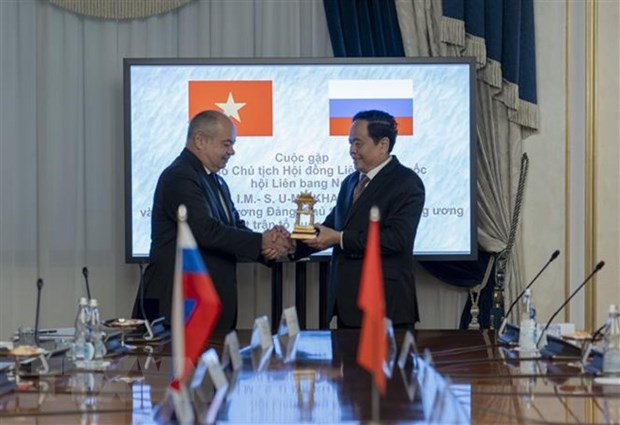 VFF President meets with Russian officials hinh anh 1