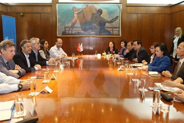 Vietnam looks to boost health cooperation with Argentina hinh anh 1