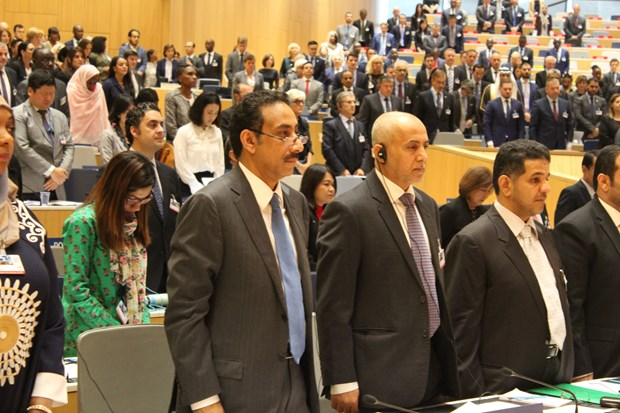 WIPO Assemblies hold minute's silence to remember President Tran Dai Quang hinh anh 1