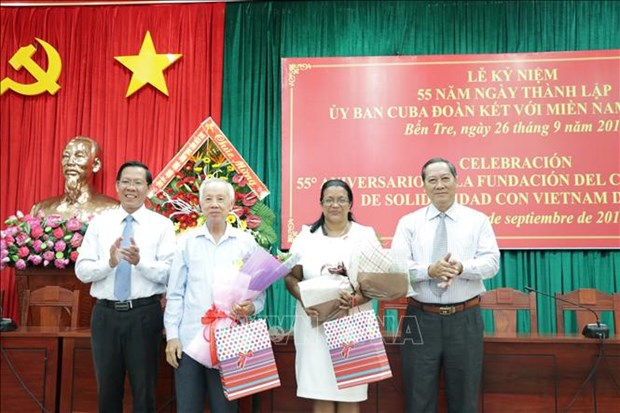 55 years of Cuban Committee for Solidarity with South Vietnam marked hinh anh 1