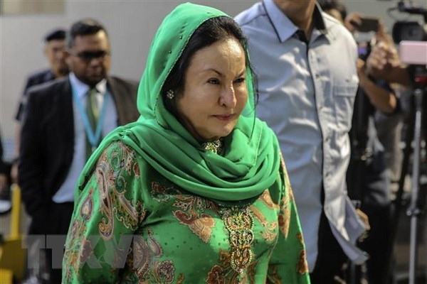 Former Malaysian PM's wife questioned on 1MDB hinh anh 1