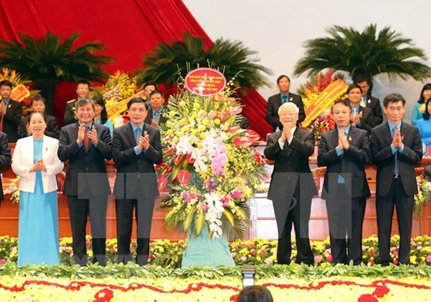 Vietnam General Confederation of Labour wraps up 12th congress hinh anh 1