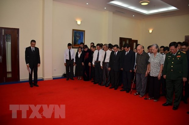 Vietnam has lost a great leader: Cambodian acting head of state hinh anh 1