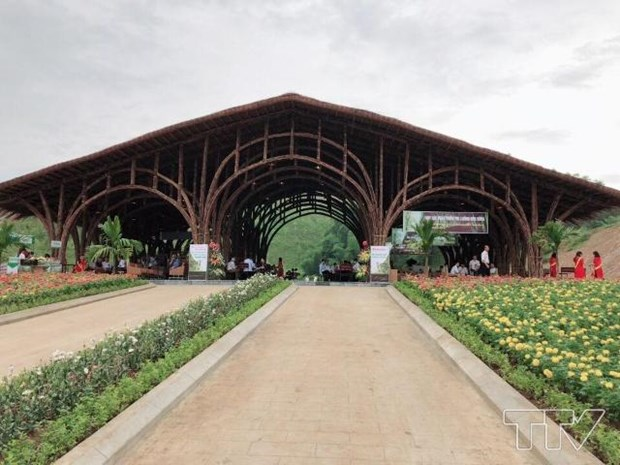 Thanh Tam Bamboo Ecopark inaugurated in Thanh Hoa province hinh anh 1
