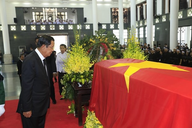 International friends share grief over President Quang's death hinh anh 1