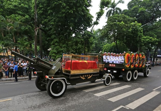 Memorial services held for President Tran Dai Quang hinh anh 3