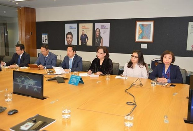 Hanoi delegation concludes Australia visit hinh anh 1