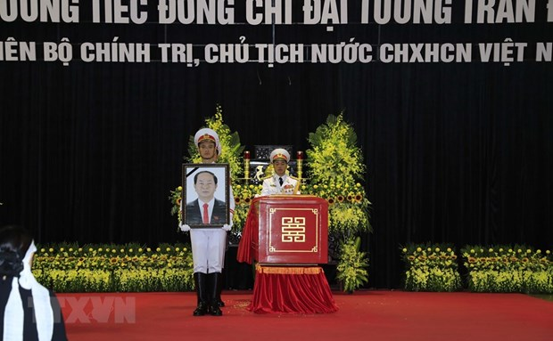 Memorial services held for President Tran Dai Quang hinh anh 1
