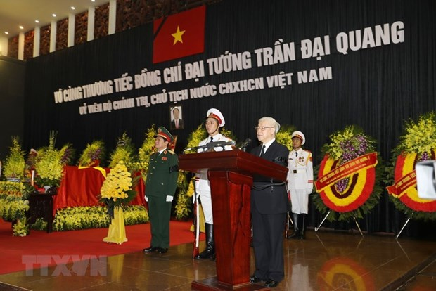 Memorial services held for President Tran Dai Quang hinh anh 2