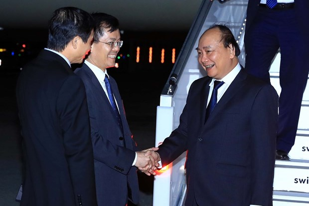 PM arrives in New York for UN General Assembly's 73rd session hinh anh 1