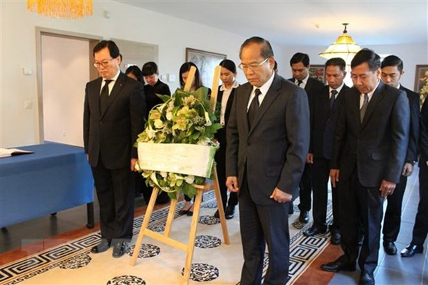 President Tran Dai Quang remembered in Europe hinh anh 1