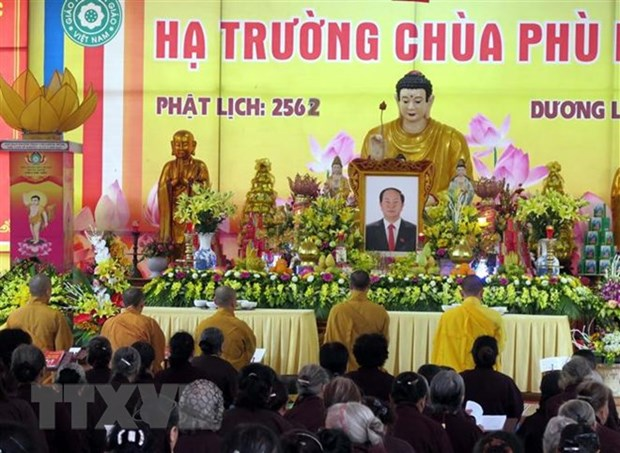 Funeral Board, family of President Tran Dai Quang offer thanks hinh anh 1