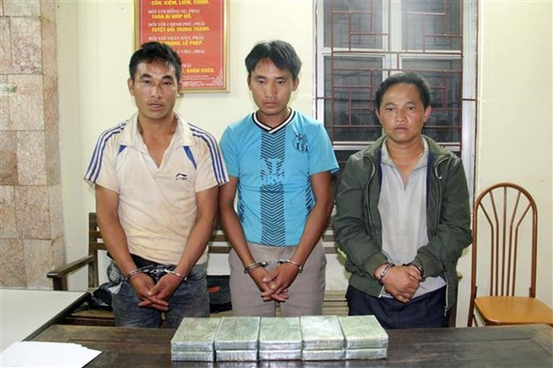 Drug smugglers caught in Son La hinh anh 1