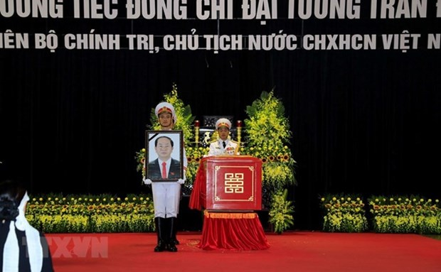 More condolences to Vietnam over President Quang's death hinh anh 1