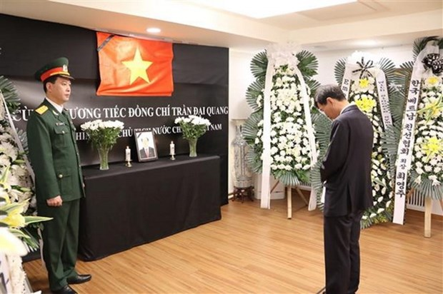 Tribute-paying services for President held across Asia hinh anh 2