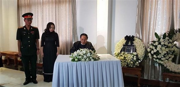 Tribute-paying services for President held across Asia hinh anh 1