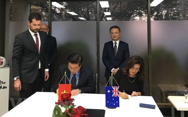 Vietnam, Australia cooperate in training lawyers hinh anh 1