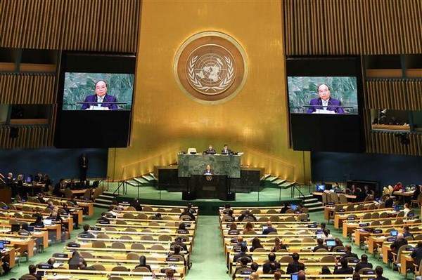 PM calls for joint efforts for world of sustainable development hinh anh 1