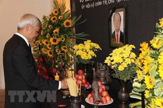 President Tran Dai Quang commemorated in Spain, Venezuela hinh anh 1