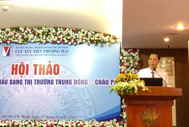 Middle East, Africa – promising markets for Vietnamese goods hinh anh 1