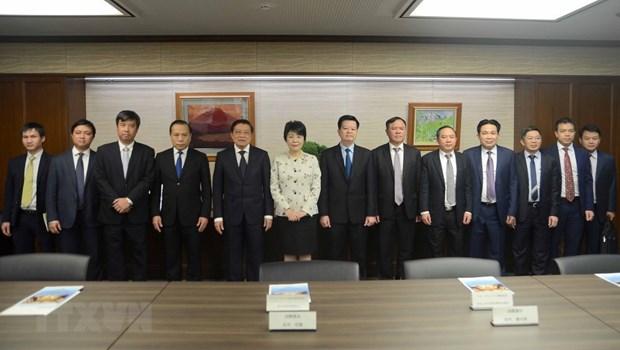 Communist Party of Vietnam delegation visits Japan hinh anh 1
