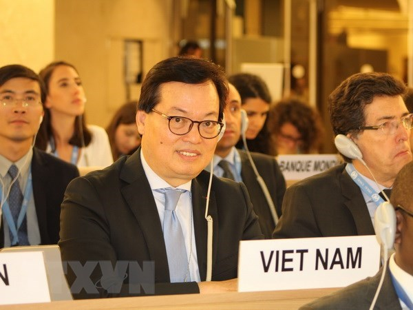 Vietnam actively contributes to UNHRC's 39th session hinh anh 1