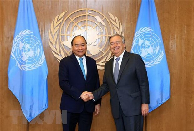 PM successfully wraps up working trip for UNGA's 73rd session hinh anh 1
