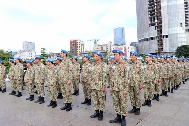 Vietnam's peacekeeping force ready to receive tasks in South Sudan hinh anh 1