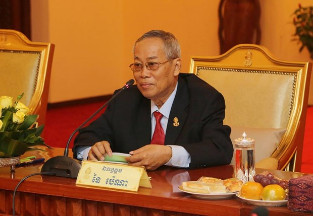 First Vice President of Cambodian Senate passes away hinh anh 1