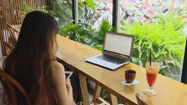 Tropical forest coffee in Hanoi attracts young people hinh anh 2