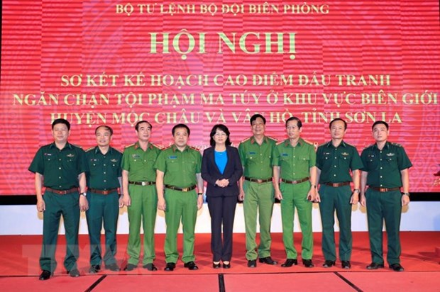 Son La: anti-drug crime fighting plan shows efficiency hinh anh 1