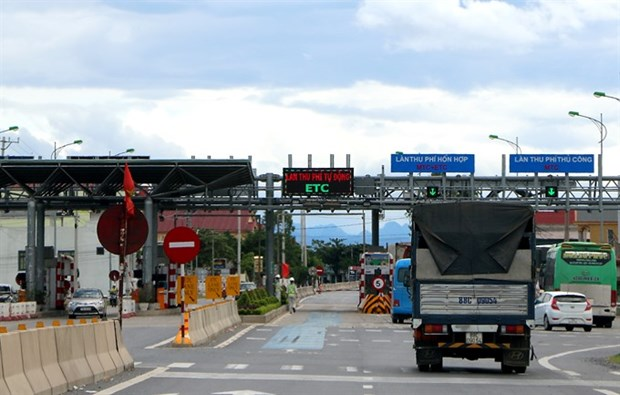 Electronic toll booth construction to be sped up hinh anh 1
