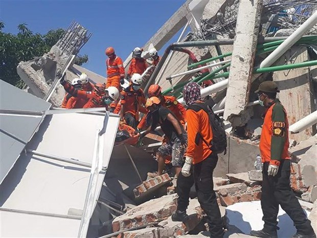 Indonesia's earthquake, tsunami not declared as national disaster hinh anh 1