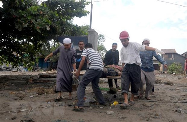 Indonesia needs more equipment, manpower to find tsunami-quake victims hinh anh 1