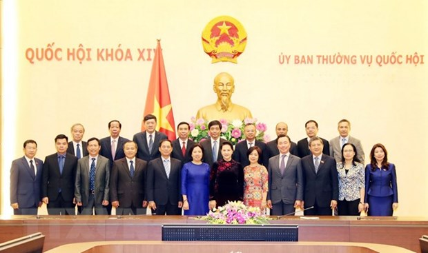 NA Chairwoman hopes diplomats will bring opportunities to localities hinh anh 1