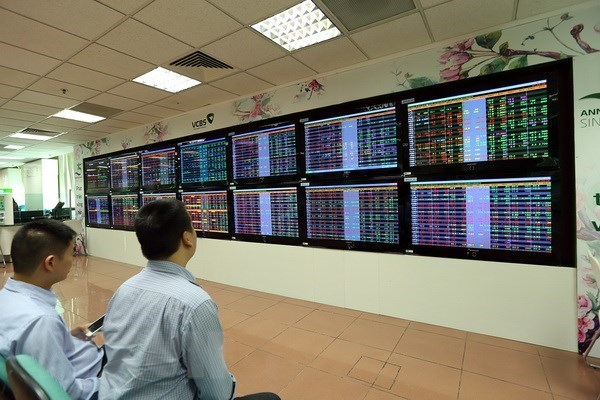 Vietnamese shares suffer on large cap bank losses hinh anh 1