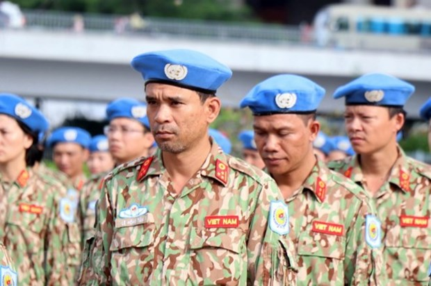 Vietnam performs int'l humanitarian mission through UN peacekeeping operations hinh anh 1