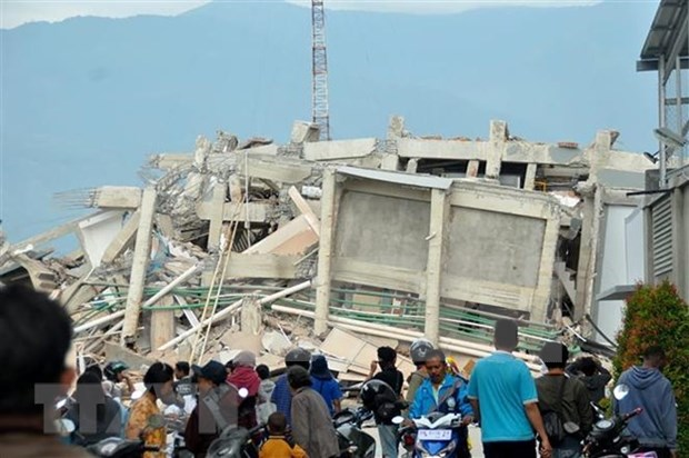 Indonesia: Most of foreigners safe after deadly quake, tsunami hinh anh 1