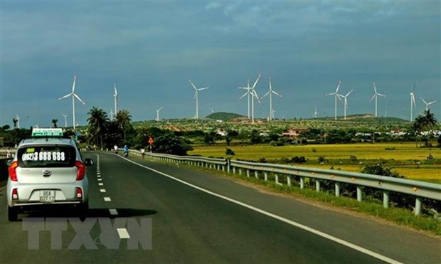 Dak Lak's wind power potential attracts investors hinh anh 1